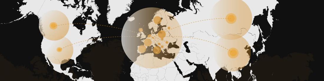 Connect Export-Radar für Exporte aus Deutschland in fremdsprachige Länder